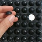 large Black 3M RUBBER FEET, Sticky SELF ADHESIVE Silicone DOMED Pads, 16mm x 8mm
