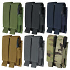 Condor Outdoor Tactical Double Airsoft Pistol Mag MOLLE Magazine Pouch MA23