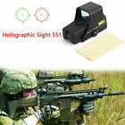 Red Green Dot Holographic Sight 551 Tactical Airsoft Scope Sight US