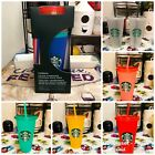 Kyпить Starbucks Color Changing Cups 5 Pack, Confetti Cups, Rainbow Straws Plus More.  на еВаy.соm