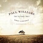 Paul Williams, Paul Williams & the Victory Trio - What a Journey [New CD] $12.99 USD on eBay