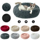 Warm Comfy Calming Dog Bed Cat Bed Round Super Soft Plush Pet Bed Marshmallow