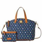 Dooney & Bourke Gretta Novelty Satchel & Medium Wristlet