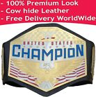 WWE United States Championship Replica Title (2020) Leather Zinc Brass 2mm 4mm