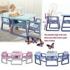Study Play Table and Chair Set Generic 3 Piece Toddler Kids Furniturer Xmas Gift