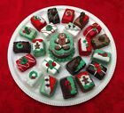 FAKE CHRISTMAS PETIT FOURS LOOK YUMMY