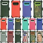 Samsung Galaxy S10 S10e S10 Plus Hard Case with Clip Fits Otterbox Defender