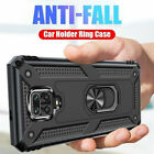 For Xiaomi Redmi 9 Note 9S 8T Pro Magnetic Ring Holder Military Armor Case Cover