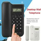 Wall Mounted Corded Home Office Landline Phone With Caller ID Desktop US