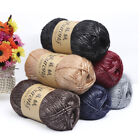 100g Crochet Thick Yarn Long Velvet Cotton Reflective Scarf Weaving Carpet