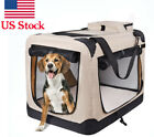Pets Dog Soft Crate Kennel for Pet Indoor Home & Outdoor Use - Soft Sided 3 Door