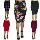 Kyпить Womens Pencil Midi Office Skirt Soft Stretch Waist High Waist Knee Length*Lapiz на еВаy.соm