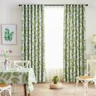 1 x 2.5m Blackout Window Curtain Banana Leaf Printed Room Shading Curtain