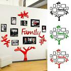 Family Tree Photo Frame Picture Collage Wall Stickers Home Wedding Decor M2a2