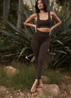 NEW Free People Movement High-Rise 7/8 Good Karma Legging in Brown XS/S-M/L 98