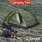Outdoor 2-3 Person 4 Season Camping Hiking Waterproof Folding Tent Camouflage ~