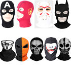 Halloween Fabric Mask Batman Captain Flash Friday the 13th COD Ghost Mask Helmet
