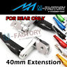 MFP 40mm Extended Rear Foot Pegs For ER-6F ER-6N Verys 650 Z750/S/R Z1000 -MC
