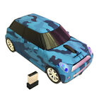 Mini cooper BMW 2.4GHZ Wireless Car Mouse Mice for Laptop PC + receiver gift Red
