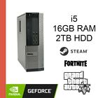 Dell Gaming Pc | Win10 Pro | 16gb | Gtx 1050 Ti | I5 | 16gb | Fortnite | Gta5