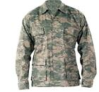 ACU Digital Camo Military Style BDU SHIRT US Army Combat Uniform Style Seals