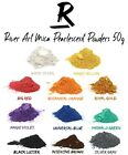11 Colours River Art Mica Pearlescent Powders 50g Jewellery Epoxy Resin River