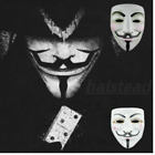 V for Vendetta Mask Fawkes Anonymous For Halloween Cosplay Party Costume Props