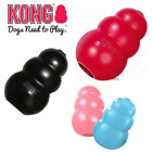 KONG Dog Toy Puppy Classic Chew or Extreme treat Snack Holder Rubber / UK
