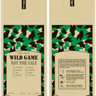 1 LB WILD GAME CAMO MEAT BAGS