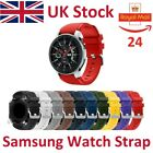 For Samsung Galaxy Watch Strap 42mm Band Silicone Active Sport Width 20mm