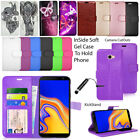 For SAMSUNG GALAXY J4 J4+ J4 Core Phone Protector Case Wallet Leather...