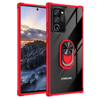 For Samsung Galaxy S20 20ultra s10 10+ hard clear kickstand CASE COVER