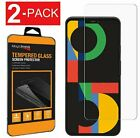 2-Pack Premium Tempered Glass Screen Protector For Google Pixel 5 / 5 XL