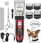 Dog Shaver Clippers Low Noise Rechargeable Cordless Electric Quiet Hair Set