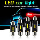 Festoon Led Bulbs 31mm 36mm 39mm 41mm C5w C10w Super Bright Car Dome Ew