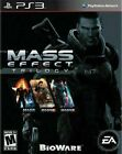 Mass Effect Trilogy with Slipcover (Sony PlayStation 3, 2012) BioWare PS3