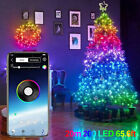 Christmas Tree Decoration Lights Custom LED String Lights App Remote Control NEW