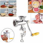 Food Meat Grinder Mincer Stuffer Hand Crank Manual Sausage Filler Maker Machine photo