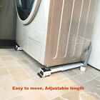 24 Wheels Movable Washing Machine Base Refrigerator Undercarriage Stand Mute New