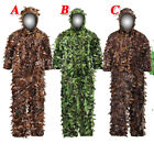 3D Tactical Camouflage Sniper Ghillie Suit Woodland Outdoor For Hunting Army