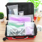 3//5xPortable Waterproof Travel Storage Shoes Organizer Pouch Plastic Packing Bag
