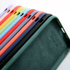 For iPhone 12 11 Pro Max XS XR X 8 7 Shockproof Liquid Silicone Soft Case Cover