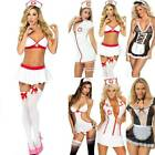 Womens Sexy Lingeries Nurse Maid Uniforms Outfits Fancy Dress Cosplay Underwear