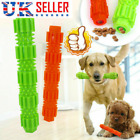 UK❤❤NEW Durable Dog Chew Toys Bone for Aggressive Chewers Indestructible Rubber=