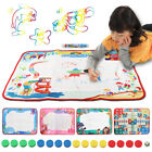 Внешний вид - Water Drawing Painting Writing Mat Board Magic Pen Doodle Toy Gift 57×78cm ✅