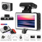 3.0''1080P Full Magnetic Car DVR Dash Camera Loop with GPS  Rear View Camera