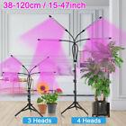 Four-Head LED Plant Grow Light Floor with Stand Full Spectrum for Indoor Plants