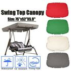 """75''x52"""" Patio Swing Canopy Replacement Cover Garden Top Cover Furniture Green"""