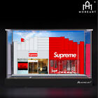 Moreart 1:64 POP Model Diorama Supreme Shop Scenery Photo Background DisplayCase