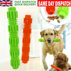 Durable Dog Chew Toys Rubber Bone Toy For Aggressive Chewers Indestructible UK#!